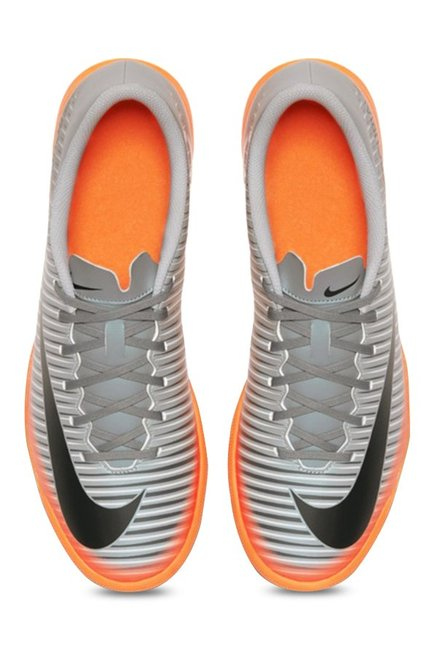 661aaf02c Buy Nike Mercurialx Vortex III CR7 IC Grey Training Shoes for Men at ...