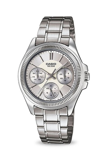 Casio LTP-2088D-7AVDF Enticer Analog Watch for Women