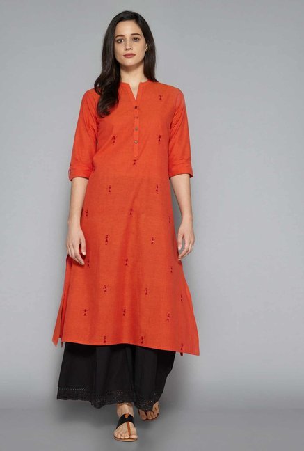 Utsa by Westside Rust Kurta