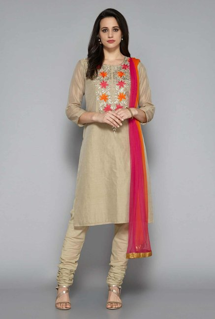 Vark by Westside Taupe Ethnic Set