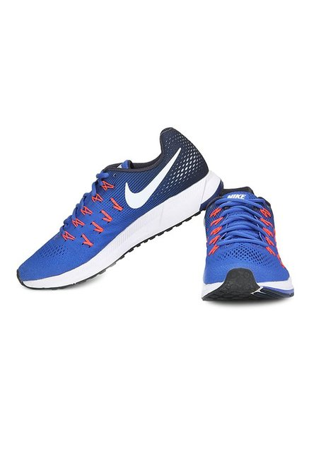 pretty nice ee941 6ebe8 Nike Air Zoom Pegasus 33 Royal Blue Running Shoes