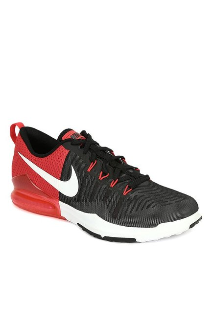 8f96467eeef5 Buy Nike Zoom Incredibly Fast Black   Red Training Shoes for Men at ...