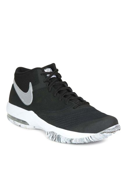 wholesale dealer b8285 96e8e Buy Nike Air Max Emergent Black Basketball Shoes for Men at Best Price    Tata CLiQ