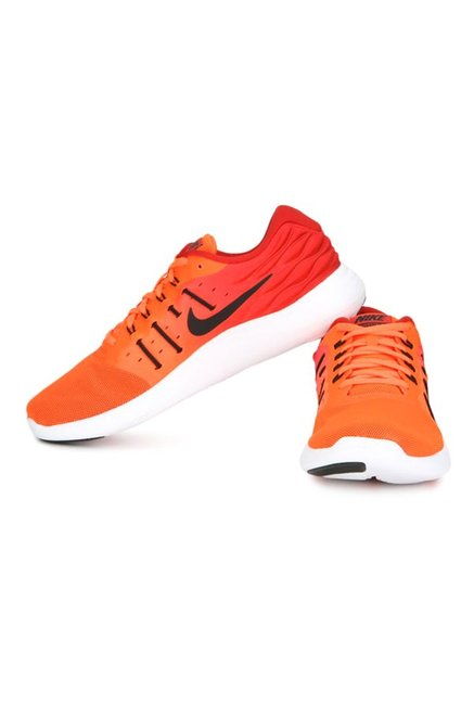 Buy Nike Lunarstelos Total Crimson   Red Running Shoes for Men at ... e1695f1058