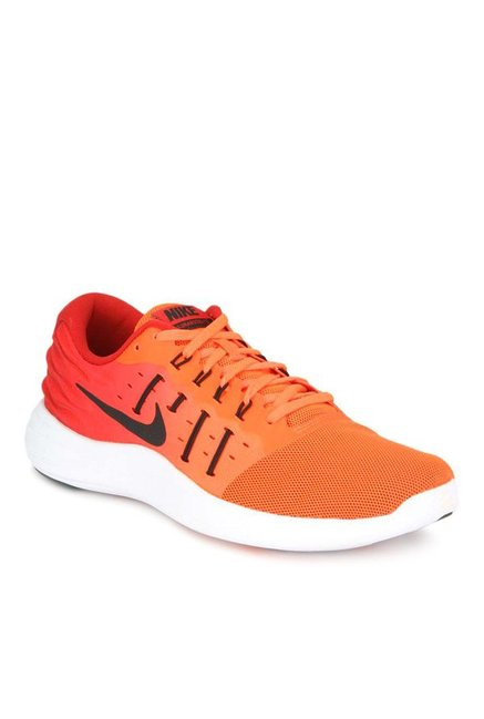 Buy Nike Lunarstelos Total Crimson   Red Running Shoes for Men at Best  Price   Tata CLiQ de1ecbc147