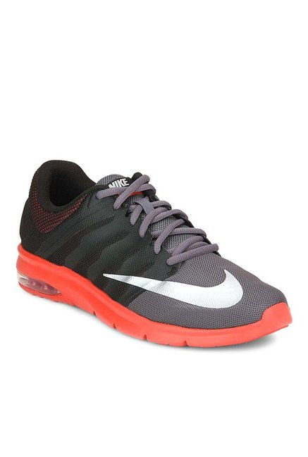 promo code f3ffb 2e6ce Buy Nike Air Max Era Dark Grey  Black Running Shoes for Men at Best Price   Tata CLiQ