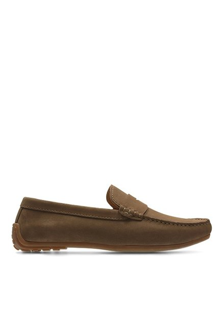 Clarks Reazor Drive Brown Loafers