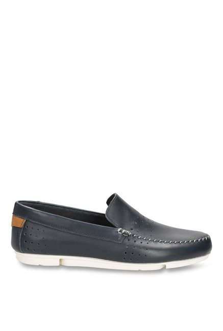 Clarks Trimocc Sun Navy Loafers