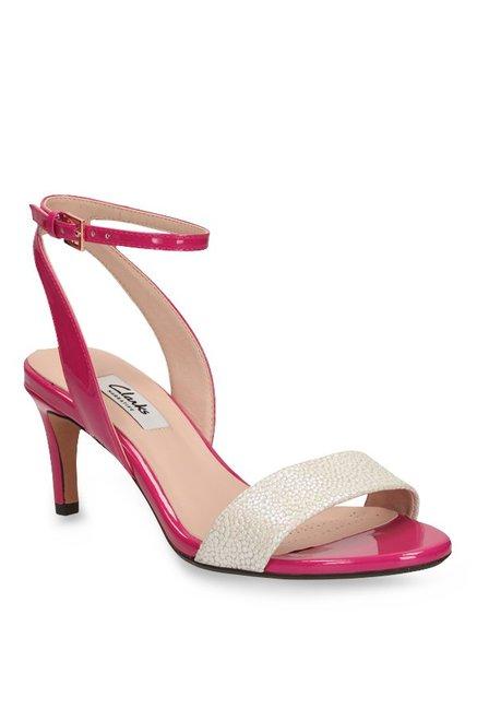 e2d14e0b Buy Clarks Amali Jewel Fuschia Ankle Strap Stilettos for Women at ...