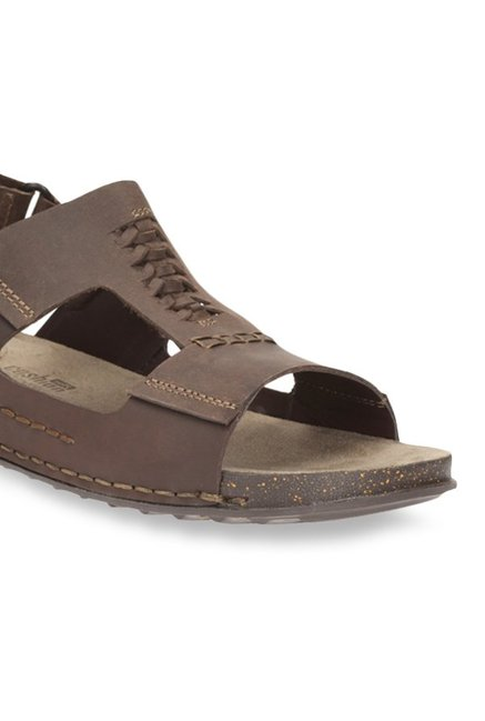 231a3cbfe Buy Clarks Keften Bay Brown Back Strap Sandals for Men at Best Price ...