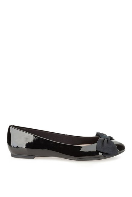 7c7df966b5a56 Buy Clarks Alicia Allie Black Flat Ballets for Women at Best Price ...