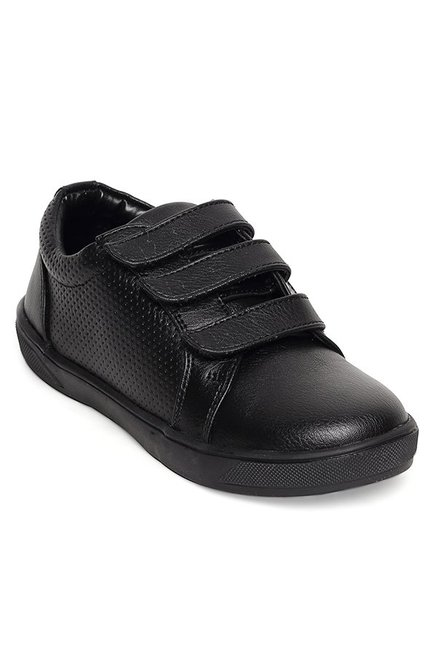 Bruno Manetti Kids Black Casual Shoes