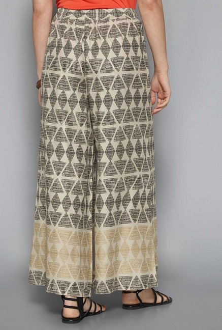 Bombay Paisley by Westside Beige Palazzos