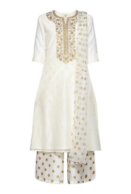 Vark by Westside Off White Ethnic Set