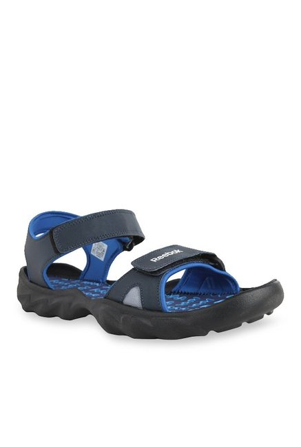 a6f59d2ffb53c4 Buy Reebok Navy Blue Floater Sandals for Men at Best Price   Tata CLiQ