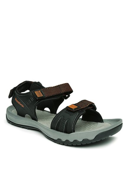 1ffae775f Buy Reebok Black   Grey Floater Sandals for Men at Best Price ...