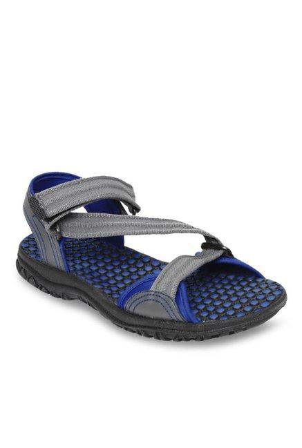 73e68d880152 Buy Reebok Grey   Royal Blue Floater Sandals for Men at Best Price ...