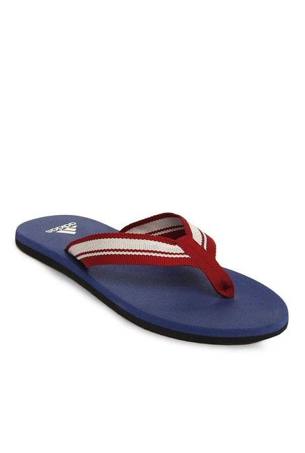 8465dd11a Buy Adidas Adze Red   White Flip Flops for Men at Best Price   Tata CLiQ