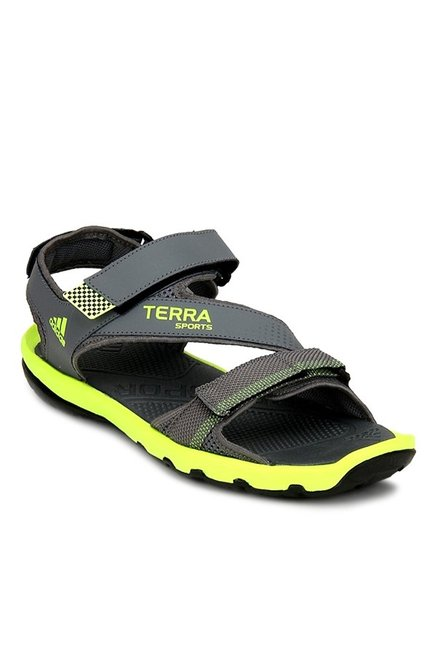 e6231e762 Buy Adidas Grey Floater Sandals for Men at Best Price @ Tata CLiQ