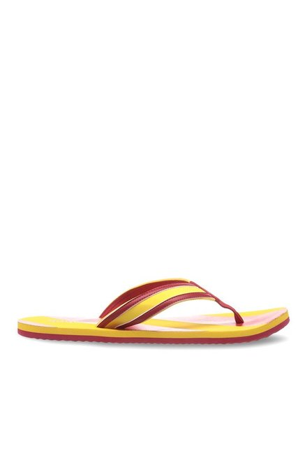 3cbb2b138 BUY NOW. TataCliq. 54%. OFF. 54% OFF on Reebok Yellow   Red Flip Flops