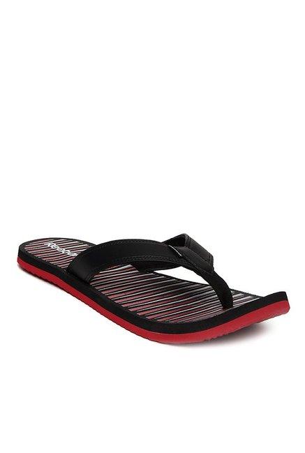 4bec1656e Buy Reebok Black   Red Flip Flops for Men at Best Price   Tata CLiQ