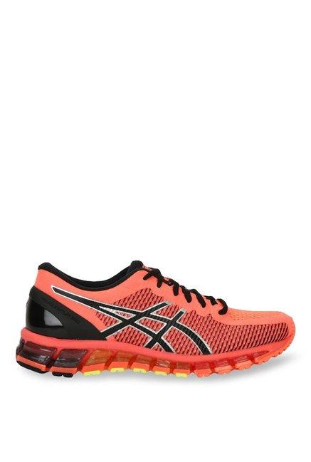 ae0bdbc3daf Buy Asics Gel-Quantum 360 2 Orange   Black Running Shoes for Women ...