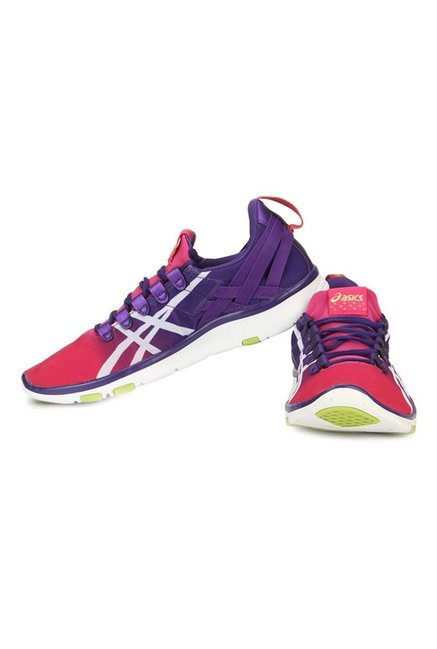 65b287b40ce1 Buy Asics Gel-Fit Sana Fuschia   Purple Training Shoes for Women at ...