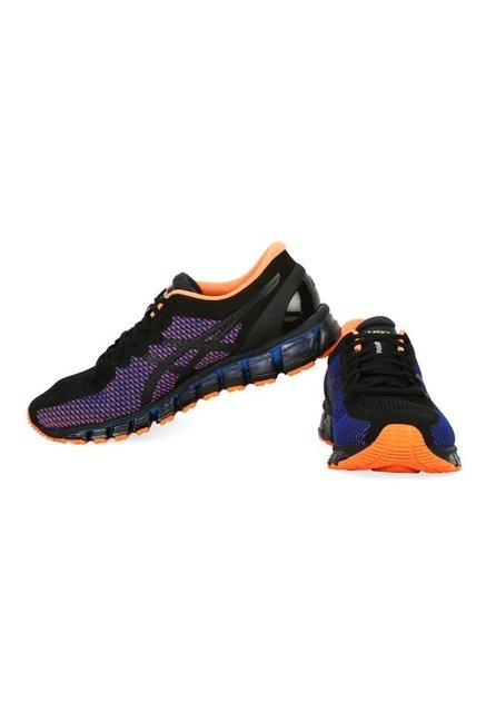 sports shoes 4e24a 63963 Asics Gel-Quantum 360 CM Black   Purple Running Shoes