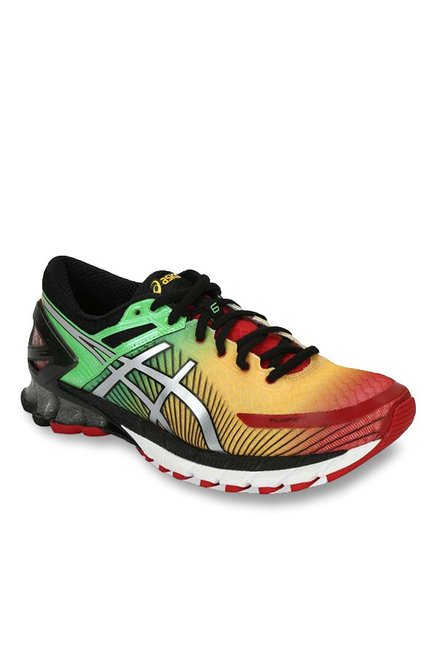 competitive price d1e5a b0927 Buy Asics Gel-Kinsei 6 Yellow   Green Running Shoes for Men at Best Price    Tata CLiQ