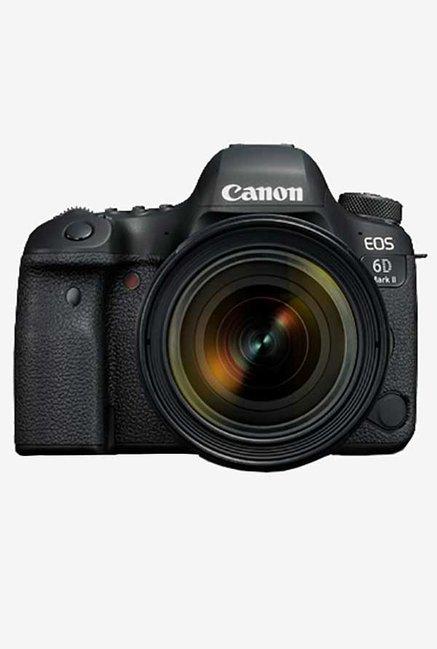 Canon EOS 6D Mark II 26.2 MP  24 70mm Lens  DSLR Camera