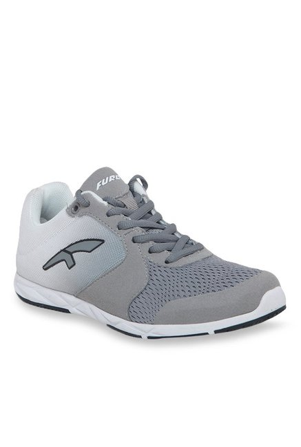 0c6ed2adb65 Buy Furo by Red Chief Grey   White Running Shoes for Women at ...