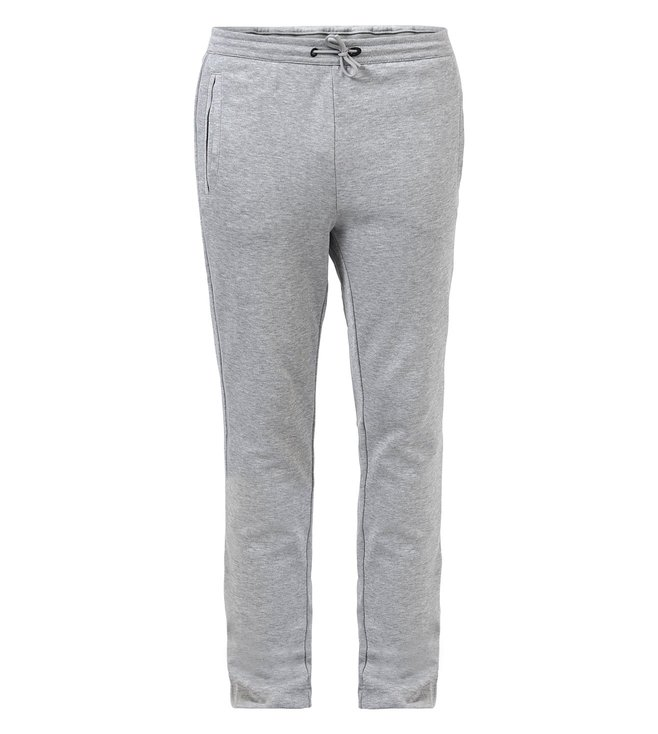 c31d9b7c8 Added to Bag. Boss Light Grey Tracksuit Bottoms In Cotton Blend 'Hadim'