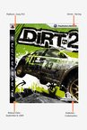 PS3 Dirt 2 Game
