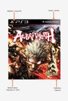 PS3 Asura's Wrath Game