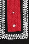 Soch Black Cotton Embroidered Kurta