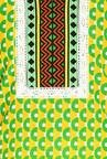 Soch Yellow & Green Cotton Printed Kurta