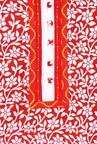 Soch Red & White Cotton Kurta