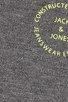 Jack & Jones Grey Solid Polo T-Shirt