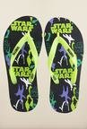 Star Wars Black & Green Flip Flops
