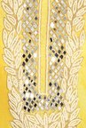 Soch Yellow Embroidered Dress Material