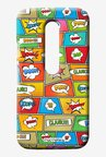 Macmerise Comic Popart Sublime Case for Moto G3
