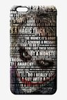 Macmerise Joker Quotes Pro Case for iPhone 6S Plus