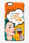 Macmerise Miss Wine Pro Case for iPhone 6