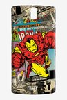 Macmerise Comic Ironman Sublime Case for Oneplus One