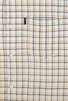 Peter England White Checks Casual Shirt