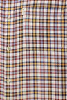 Peter England Multicolour Plaid Checks Casual Shirt