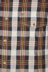 Peter England Black & Yellow Checks Casual Shirt