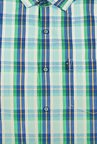 Peter England Multicolour Tartan Plaid Checks Casual Shirt