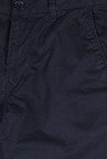 Peter England Navy Cotton Casual Trouser