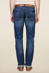 Peter England Blue Mid Rise Jeans
